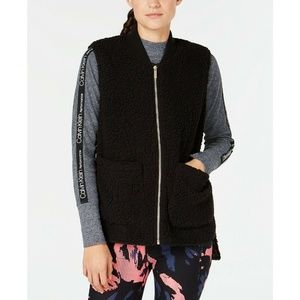Calvin Klein Performance Fleece High-Low Vest
